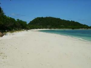 หาดทรายเกาะขาม