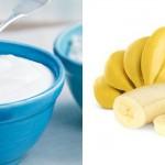 โยเกิร์ตรสธรรมชาติ + กล้วย