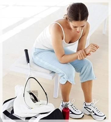 บาดเจ็บจากการเล่นกีฬา
