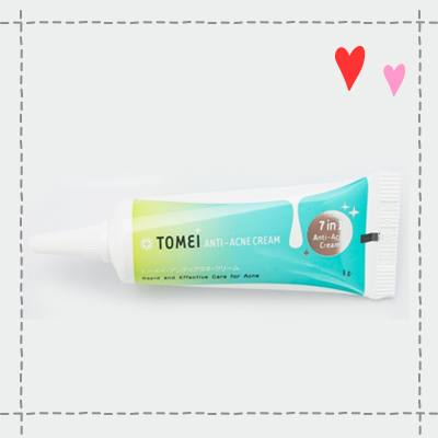 Tomei anti-acne cream2