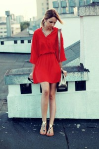 red dress what to wear street style chic fashion blog blogger lilis lookbook new mystyle look of the day fashion daily 2