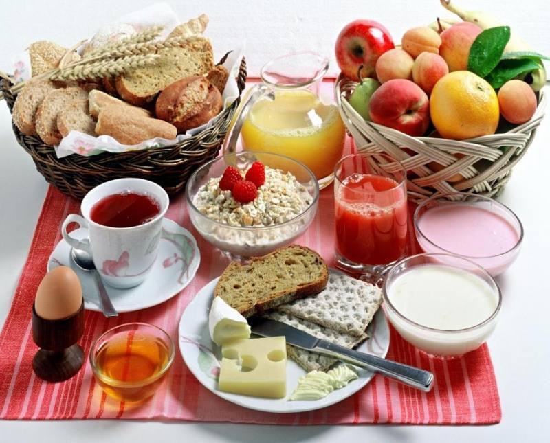 อาหารเช้าทานแล้วดี