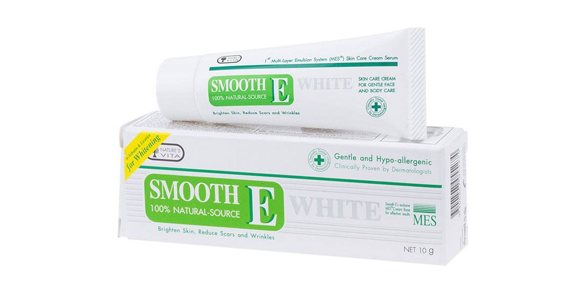 Smooth E Cream Plus White